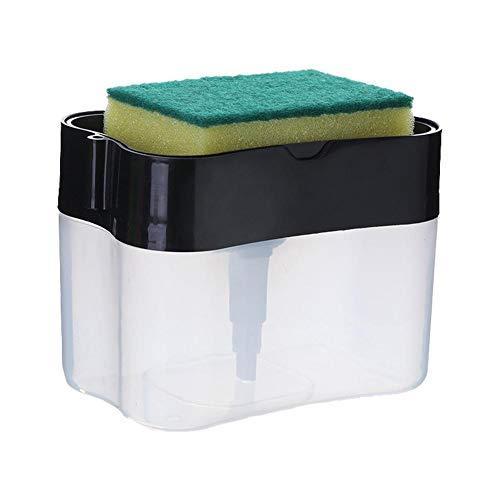 2 in 1 Soap Pump Dispenser, Creative Kitchen Manual Push Soap Pump,...