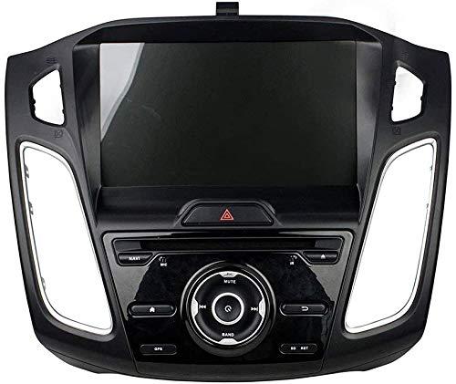 AEBDF Android 8.0 Sat Nav para Ford FOCUSE 2012-2016,9 Incluido GPS Pantalla táctil de navegación, Radio estéreo de automóvil Multimedia Player SWC 3G WiFi Bluetooth