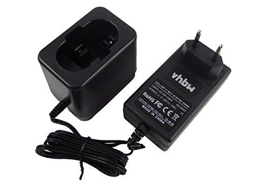 vhbw 220V Alimentatore Caricabatterie per Utensile Bosch GDS 18 V, GDS 18 V-HT, GHO 14.4V, GHO 14.4VH, GHO 18 V, GKG 24V, GKS 18 V, GKS 24V, GLI 12