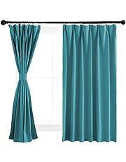 NICETOWN 遮光 カーテン 厚地 遮熱 部屋 間仕切り 遮光カーテン 防音 防寒 断熱 ポリエステル