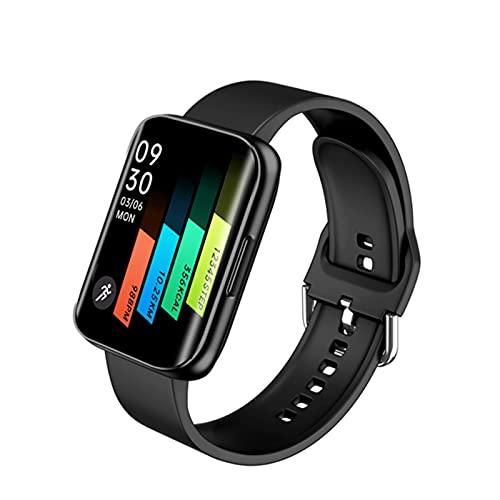 ZRY Pantalla Curvada Pulsera Smartphone Presión Arterial Presión Cardíaca Fitness Tracker Smartwatch S216 1.78 Pulgadas HD Reloj Inteligente para Android iOS,A