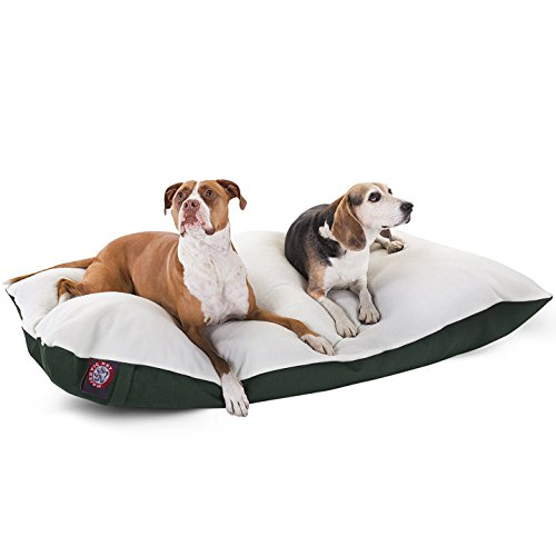 Majestic Pet Poly-Cotton Sherpa Pillow for Dog