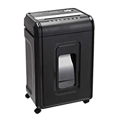 Cross-cut paper shredder with 24-sheet capacity; destroys documents, credit cards, CDs, and DVDs Shreds paper into cross-section strips measuring 5/32 by 1-1/2 inches (4 by 38mm); security level P-4 40-minute continuous run time with 50-minute cool-d...