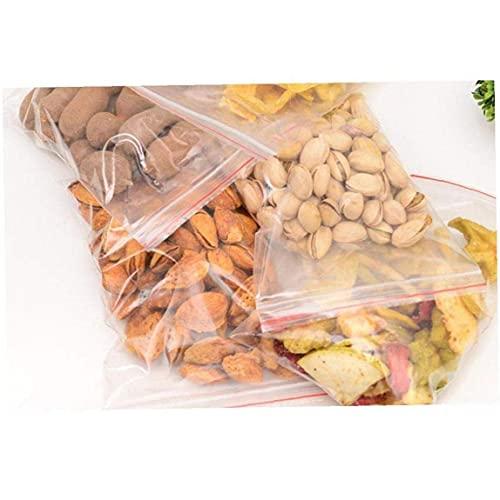 Hainice 100 STKS Kleine Clear Rits Zakken Reclosable Ziplock Opslag Plastic Zakken voor Sieraden Gift Card Candy 5X7 CM