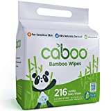 Caboo Tree-Free Bamboo Baby Wipes, Eco-Friendly Naturally Derived Baby...