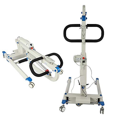 FC-Bed Patient Lift And Transfer Chair Patient Lift Machine,Painted Hydraulic Lift, 400 Lbs. Weight Capacity
