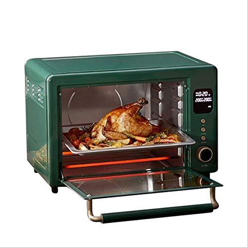 KAUTO Mini Horno 1600 W Horno para Pizza 35 litros, Bandeja para Migajas Extraíble, Microordenador Control Electrónico de Temperatura NTC, Fácil de Limpiar, Lata Pizza, Tostadas, Bagels