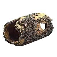 ibasenice 水族館樹脂流木ベタ魚アクセサリー水族館の装飾木造住宅中小魚の水槽の装飾
