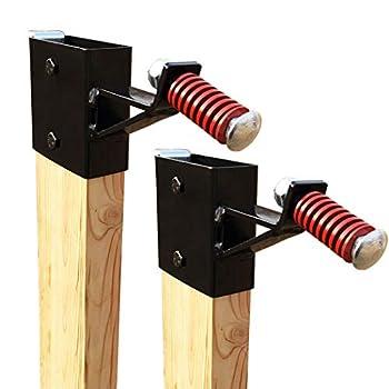 Highwild 2x4 Target Hanger Target Mount Bracket - for AR500 Steel Targets - 2 Pack