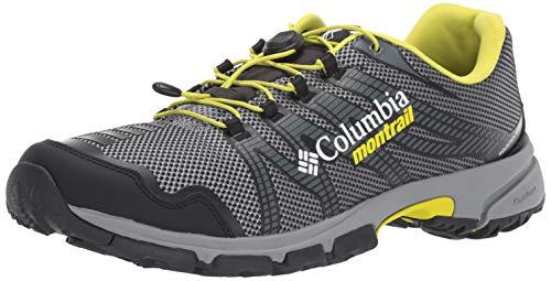 Columbia Mountain Masochist IV, Zapatillas de Trail Running para Hombre, Gris (Monument, Zour), 46 EU