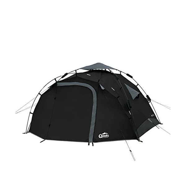 Qeedo Quick Pine 3 Man Dome Tent (Quick Up System) 2
