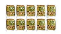 無添加 ご飯パック ★ 有機玄米ごはん 160g×10個 ★ 宅配便 ★ 無農薬玄米ご飯★常温で1年★有機活性発芽玄米使用(秋田・山形産)★温めるだけで手軽に食べられます
