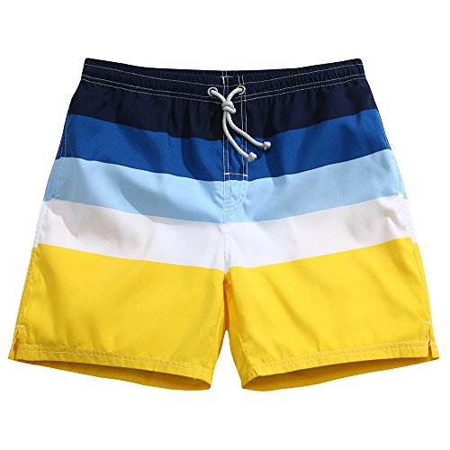 Men's Swim Trunks Quick Dry Board Shorts Bathing Suits Sands & Sea Large