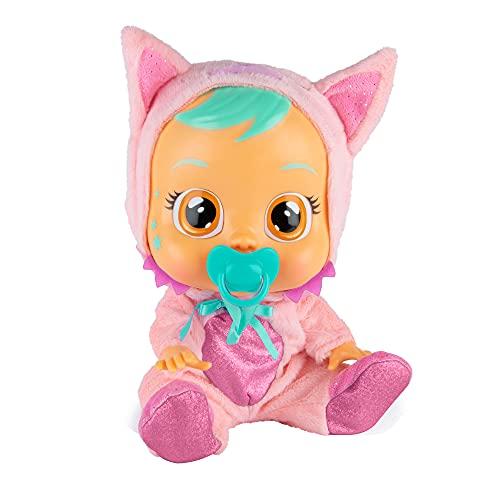 bambola interattiva Cry Babies Fantasy Foxie la Volpe - Bambola interattiva che piange lacrime vere con ciuccio