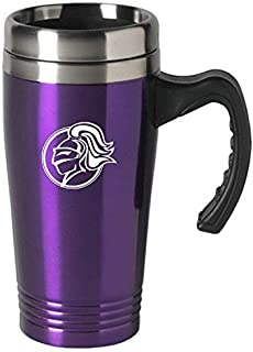 LXG, Inc. College of The Holy Cross-16 oz. Stainless Steel Mug-Purple