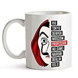 custom-cases Taza de cermica La Casa de Papel Serie TV Netflix Ideal para Regalo