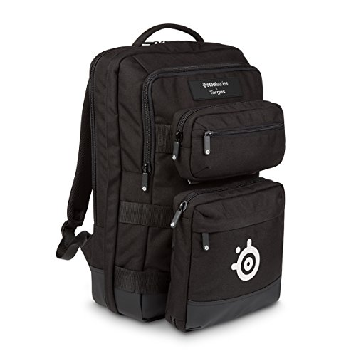 Targus SteelSeries Sniper Gaming Backpack Designed for Travel and Professional Use fits up...
