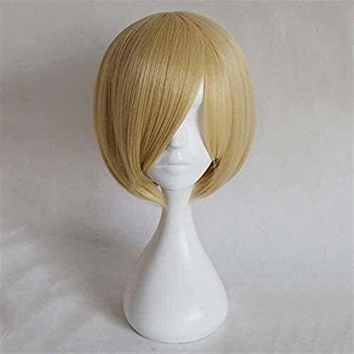 Beapet Anime Yuri !!!auf EIS Yuri Plisetsky Yurio Perücke Cosplay Kurze Blonde hitzebeständige synthetische Haarparty Rollenspiel Kostümperücken