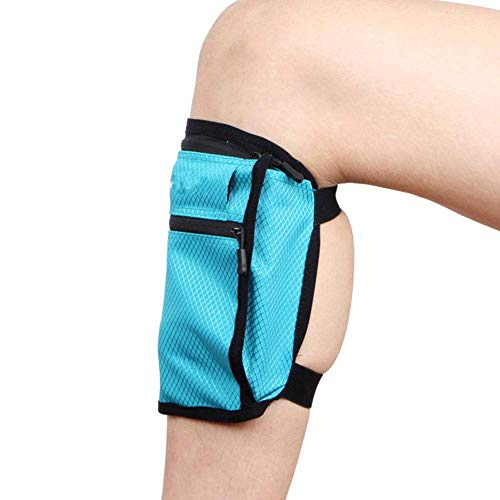 iSunday Travel Leg Band Belt Portemonnee Hide Bag Telefoontas voor Geld Kaart Geld ID Paspoort Veilig