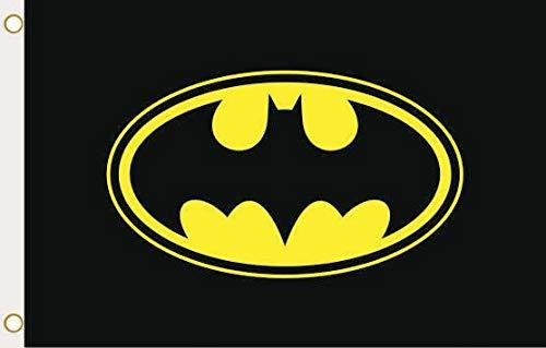 U24 Flagge Fahne Batman Emblem 90 x 150 cm