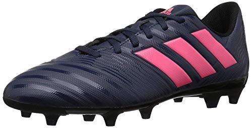 adidas Women's Nemeziz 17.4 FG W Soccer Shoe, Trace Blue/red Zest/core Black, 6.5 M US