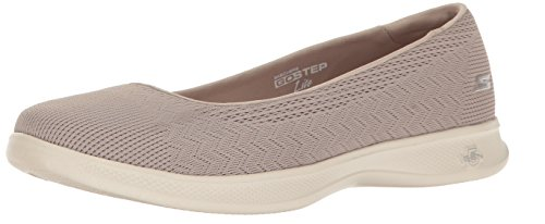 Skechers Performance Women's Go Step Lite-Solace Walking Shoe, Taupe, 9 M US