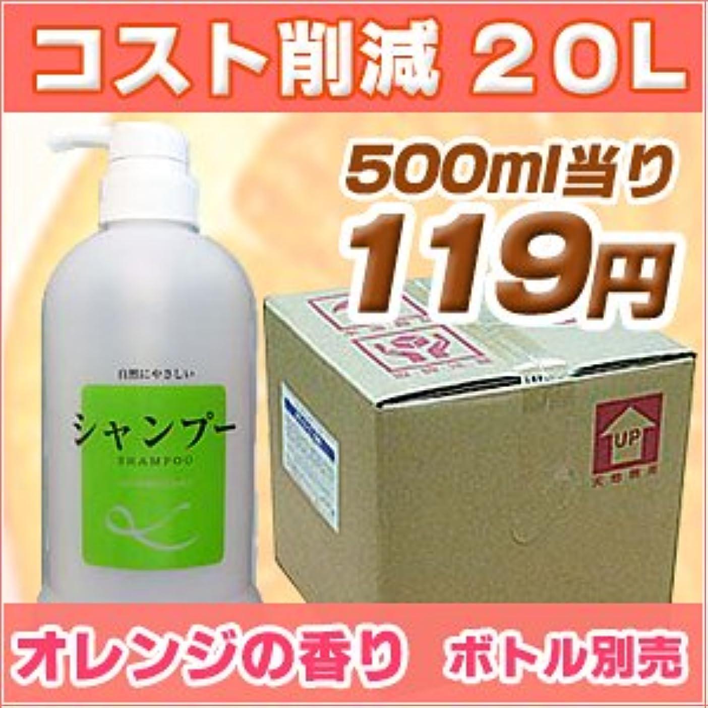 ラジカル発明するガロン業務用 シャンプー Windhill 植物性オレンジの香り 20L(1セット20L入)