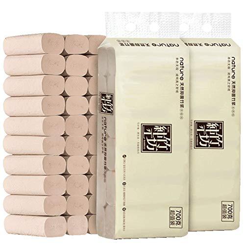 CHENYAO Huishoudelijke Verdikte 4-laags Toiletpapier Handdoeken Betaalbaar Bamboe Pulp Toiletpapier Zonder Bedrukking Papieren Handdoeken (48 Volumes)