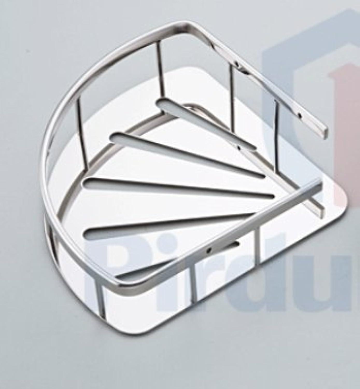 SHAN-Stainless steel double-layer tripod angle bracket bathroom racks B