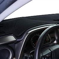 NUIOsdz Auto Car Dashboard Cover Silicone Non-Slip Dash Mat Carpet ANti-UV、For Volkswagen VW Jetta Vento MK6 2011-2016 2017 2018