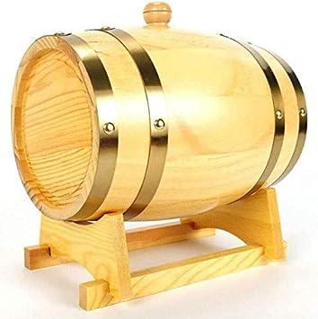 JIANGLI Barricas de Roble de Vino, 1,5 litros / 3 litros / 5 ...