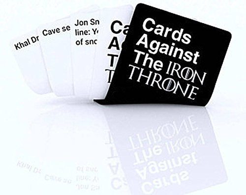 Cards Against The Iron Throne - GOT Edition Cards - CAH Edition For The Iron Throne Fan With 279 Cards