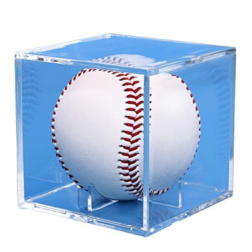 Premium Versátil Pantalla de acrílico Vitrina, cubo impermeable a prueba de polvo transparente, para coleccionables Baloncesto Baloncesto Bolas de golf Bolas de golf Protección de almacenamiento de so