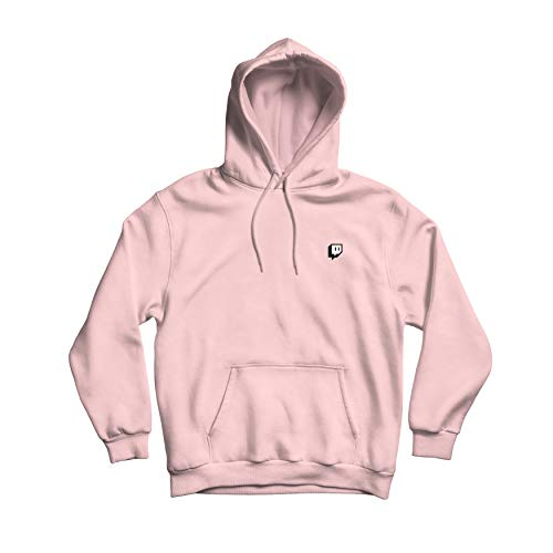 Twitch Fashion Logo Pullover- Pink (XX-Large)