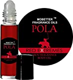 Pola Red Extreme Cologne Body Oil for Men (10ml Roll On) by Mobetter Fragrance Oils