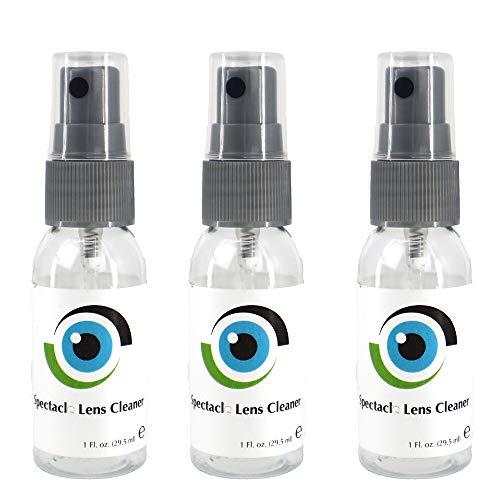 Neu Leader Flüssig Linsenreiniger 3 x Flasche mit Linsenreiniger 29 ml für Brillengläser