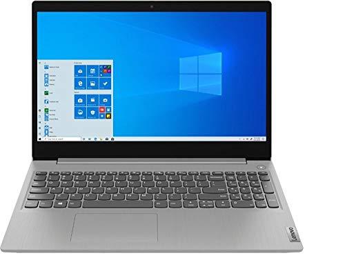 "2020 Lenovo IdeaPad 3 15 Laptop Computer/ 15.6"" Touchscreen/ 10th Gen Intel Quad-Core i5 1035G1 (Beat i7-7500U)/ 12GB DDR4/ 256GB PCIE SSD/ WiFi 6/ Wrok from Home/ Windows 10/ Grey/ iPuzzle Mousepad"