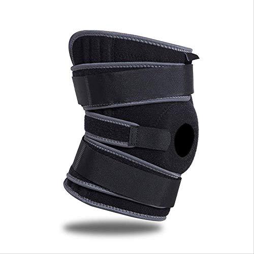 Guo bescherming voor sport in de open lucht, universele kniebescherming voor mannen en vrouwen, 6 lente, antislip, antislip