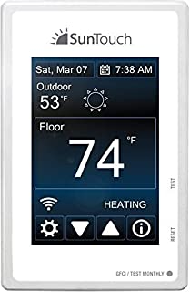 suntouch thermostat troubleshooting