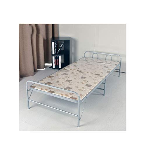 Barir Muebles PORTÁTILES Plegables DE Cama Simple/JARDÍN Muebles Interiores (Doble Tubo y Doble fleje