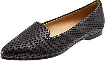 Trotters Harlowe Black Diamond Pattern Women's Flats