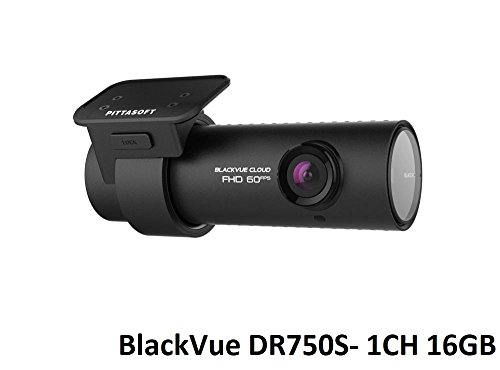 BlackVue DR750S 1-Channel 1080P Full HD Dashcam (16GB)