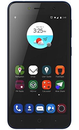 "ZTE Blade A520 - Smartphone con Pantalla 5"" HD (Procesador Quad Core 1.25, Camara Trasera 13 Mpx, Camara Frontal 8 Mpx, Android N, 2 GB RAM), Azul"