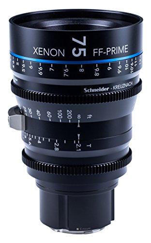 Schneider-Kreuznach 1085550 Cine Objektiv FF-Prime T2.1/75 mm, Sony E/ft schwarz