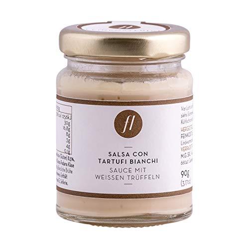 Feinkost Luigi - Trüffelsauce / Salsa mit 6% echten weißen Trüffeln (90g)