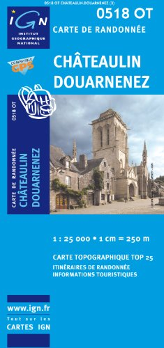 Chateaulin / Douarnenez GPS: Ign.0518ot