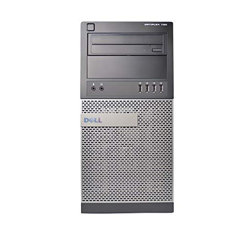 DELL 790 Tower, Core i5-2500 3.3GHz, 16GB RAM, 2TB Hard Drive, DVDRW, Windows 10 Pro 64bit (Certified Refurbished)