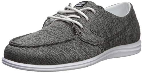 Brunswick Ladies Karma Bowling Shoes- Grey/White, 6.5