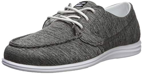 Brunswick Ladies Karma Bowling Shoes- Grey/White, 9.5
