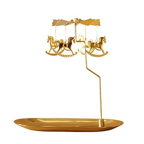 Candelabros Dorados Decorativos candelabros dorados  Marca Carolilly